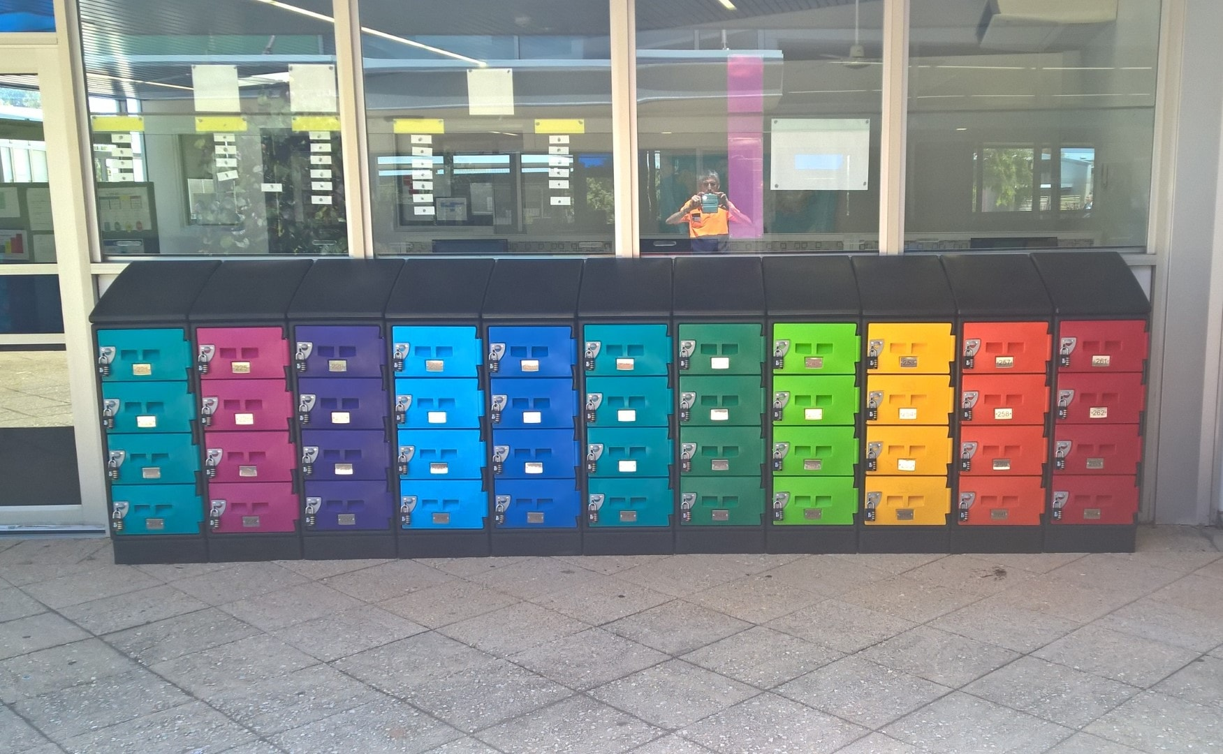 Colourful Laptop Lockers WA
