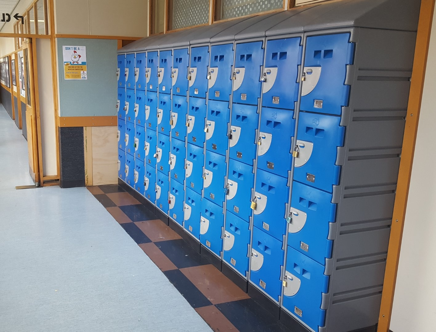 Rongotai college - School Locker